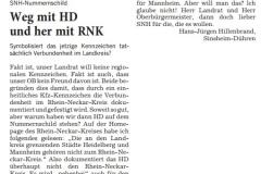 Leserbrief Hans-Jürgen Hildebrand 05.08.2017