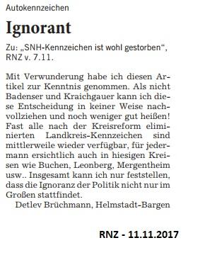 Leserbrief Brückmann 11112017