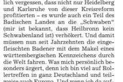 Leserbrief Bernd Heidenreich 02092017