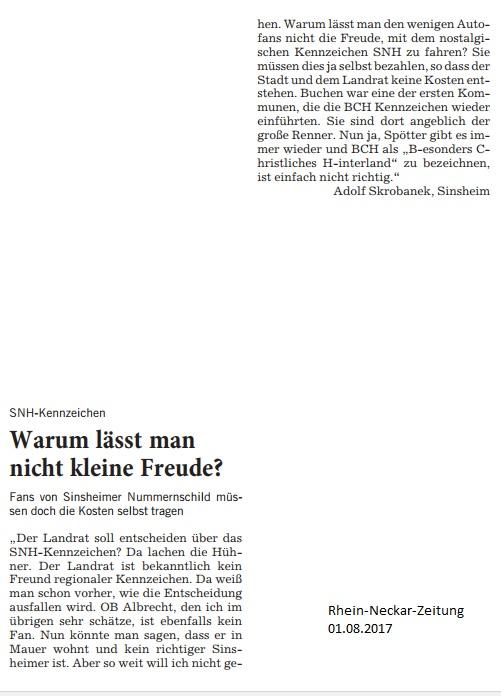 Leserbrief Adolf Skrobanek 01082017