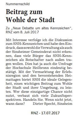 Leserbrief Specht 17072017